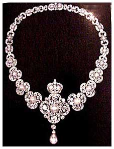 Collar victoriano de diamantes